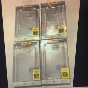 Samsung Galaxy Note 5 Cases, Set of 4, Crystal
